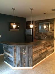building a basement bar ideas reclaimed wood bars weathered basement home design 8 luxury ideas diy
