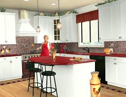 red kitchen countertops red granite kitchen colors with white cabinets retro red kitchen countertops