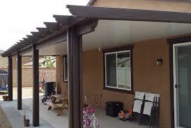 brown aluminum patio covers. Aluminum Patio Cover Solid Roof Design In Menifee Brown Covers L