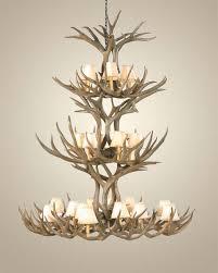 triple tier mule deer antler chandelier antler chandeliers free for incredible property deer antler chandeliers designs