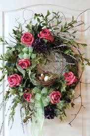 front door wreaths for summerLarge Front Door Christmas Wreaths Wreath Country Summer Fall Bird