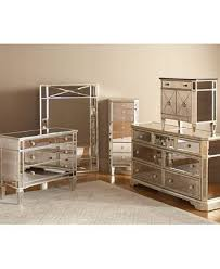 bedroom with mirrored furniture. marais mirrored furniture collection bedroom with e