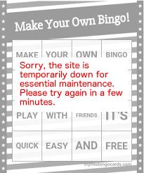 buzzword bingo generator free custom bingo card generator myfreebingocards com