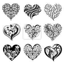 Obraz Tattoo Srdce