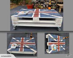 funky hall tables. Coffee Table Upcycled Union Jack Reclaimed Pallet   Trade Me. Hall TablesFunky Funky Tables B