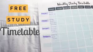 Exam Revision Timetable Template How To Make The Best Revision Timetable Student Boss