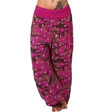 Walmart Time And Tru Size Chart Plus Size Women Camouflage Yoga Stretch Harem Pants