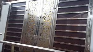 Steel Gate Design With Price Modern Steel Gate Design Price Rs 1 25 Lakh Wood Gate