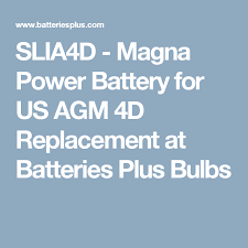 Magna Power Battery Application Chart Magna Power Battery For Us Agm 4d Replacement Boat