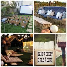 Backyard Movie Projector  CT OutdoorMovie Backyard
