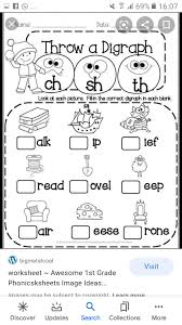 These worksheets are appropriate for first grade english language arts. Basic Phonics Worksheets For Grade 1 English Wajeeha Online Tution Academy Facebook