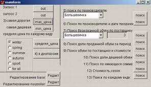 Расчётно графическая работа по дисциплине Базы данных на тему  Описание работы меню