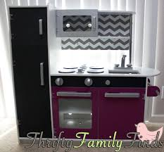 modern play kitchen makeover for less than