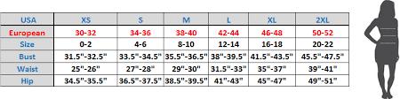 Size Charts Sizing Guides Smoky Joes Clothing