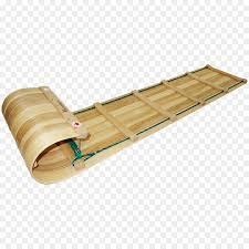 toboggan sled snow hardwood wood png