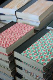readers digest books have wonderful covers and are plentiful at second hand s for 1 3 let s call it 2 per journal