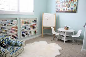 Modern Kids Playroom Interior