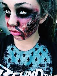 super easy zombie makeup all you need is liquid latex tissue and costume makeup simple amazing inspired by mice phan my first attempt