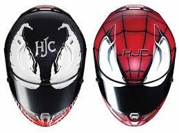 hjc expands its line of superhero motorcycle helmets
