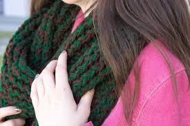 infinity loom. knit up a warm and fun infinity loom scarf in just few hours! l