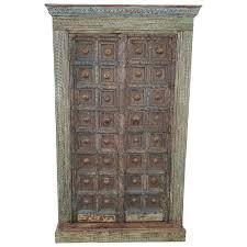 Schrank Antike Türen Damachiya Vintage Taste Of India Massiv Holz