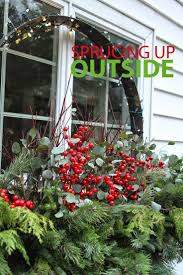 Outside Window Decorations 185 Best Christmas Outside Images On Pinterest