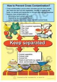 Cross Contamination 15 Best Cross Contamination Images Crosses Food Safety Food Security