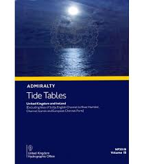 Panama City Beach Tide Chart Np201b Admiralty Tide Tables United Kingdom And Ireland 2020 Edition