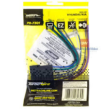 metra turbowires 70 7301 for hyundai 1999 2006 wiring harness package