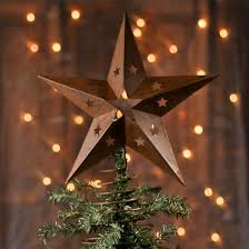 Bethlehem Star Tree Topper  Personalized OrnamentChristmas Tree Lighted Star