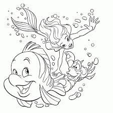 Ariel De Kleine Zeemeermin Kleurplaten Mandala Kleurplaat Voor