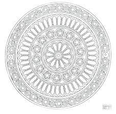 Mandala Coloring Pages For Adults Best Mandalas Online Pdf