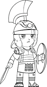Soldier Coloring Pages Roman Soldier Coloring Page Colouring Sheet