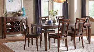 black dining room furniture sets. Riverdale Cherry 5 Pc Rectangle Dining Room Black Furniture Sets R
