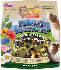 Tropical Carnival Natural Behaviors Guinea Pig Grain Free