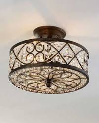 ceiling mount light fixture. 12 Beautiful Flush Mount Ceiling Lights - Love Horchow\u0027s Light With Crystals. I Guess At $560 It\u0027s A Bit Over The Top Though. Fixture