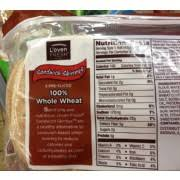 l oven fresh 100 whole wheat sandwich thins nutrition