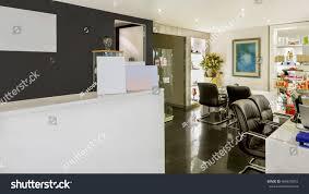 Hair Cutting Salon Interior Design Hair Cutting Salon Counter Hair Cutting Stock Photo Edit