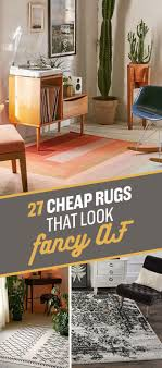 Inexpensive Rugs For Living Room 27 Inexpensive Rugs That Look Fancy Af