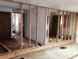 bulding new wall for diy built in bunk beds
