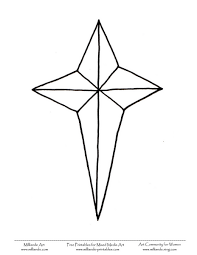 Small Picture Coloring Pages Coloring Pages Of Christmas Stars Printable