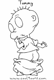Small Picture tommy6 Free Printable Rugrats Coloring Pages