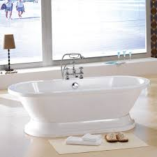 Best Soaking Tub Costco With Table Lamp White Floormat And Horizontal  Window Treatment