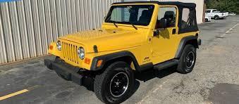 used 2006 jeep wrangler se