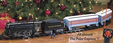 The Polar Express RC Lionel Train Set (about the fantasy movie)