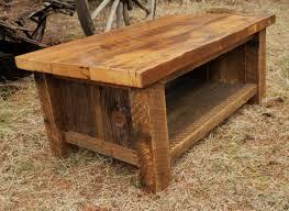 glamorous barn wood table plans of barnwood coffee table designs