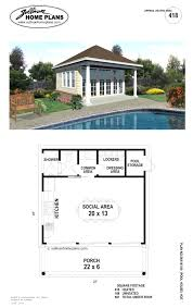 pool house plans with living quarters.  Living Ideas Pool House Plans With Living Quarters Or Fearsome  Floor Free Cabana Designs Inside Pool House Plans With Living Quarters I