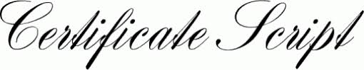 Free Certificate Font Certificate Fonts Free Rome Fontanacountryinn Com