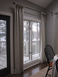 Long Curtains In Kitchen Windows Window Treatments For French Doors Are Equipped With Long