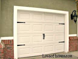 fancy up some garage adding hardware to them decorative door kit trim decorative garage door